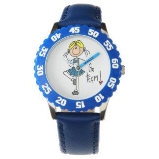Blue Go Team Cheerleader Watch