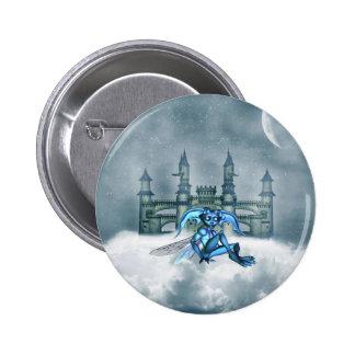Blue Goblin 6 Cm Round Badge