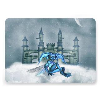 Blue Goblin Personalized Invitations