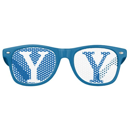 Blue Goggles Retro Sunglasses