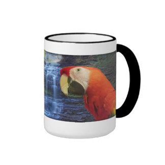 Blue & Gold Macaw & Scarlet Macaw - Coffee Mug
