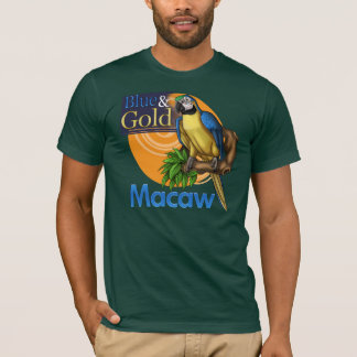 Blue & Gold Macaw T-Shirt