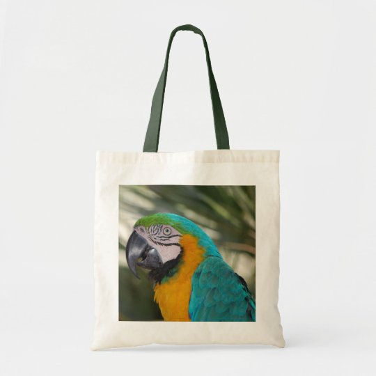 Blue & Gold Macaw Tote Bag