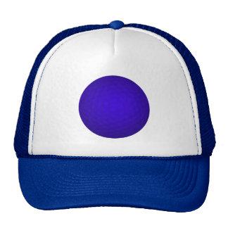 Blue Golf Ball Cap
