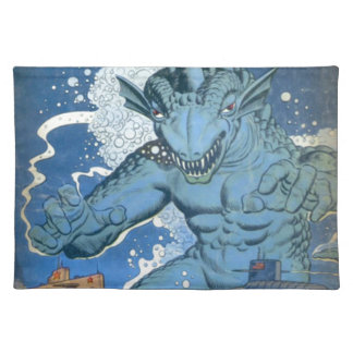 Blue Gorgo Placemat