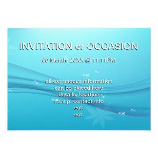 blue grace custom announcements