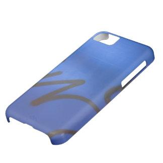Blue graffiti iPhone 5 case