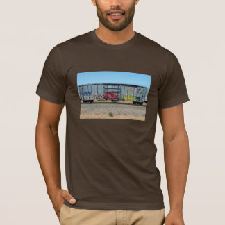 Blue Graffiti Train T-Shirt