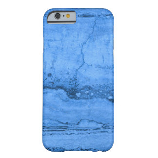 Blue granite barely there iPhone 6 case