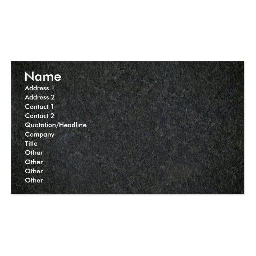 Blue granite pattern pack of standard business cards
