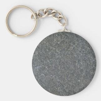 Blue granite pattern key ring
