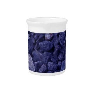 Blue Granite Rock Pitcher