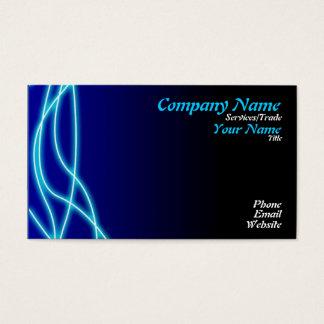 Blue Graphic design Business Card