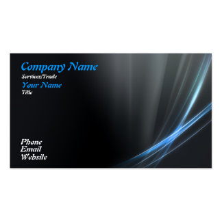 Blue Graphic design Pack Of Standard Business Cards