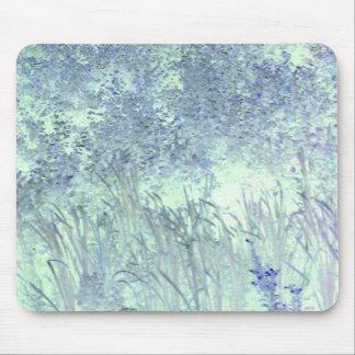 blue grass mouse mat