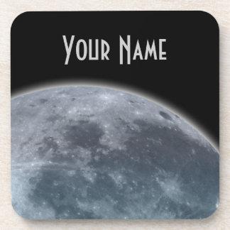 Blue Gray Moon Coaster