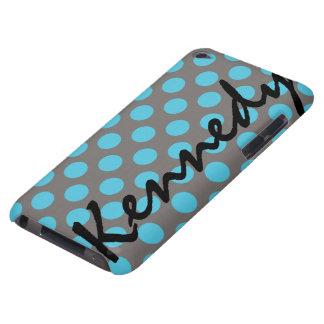 Blue Gray Polka Dots Case-Mate iPod Touch Case