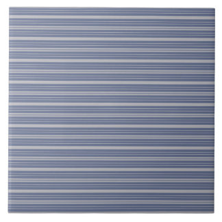 Blue Gray Stripes Tile