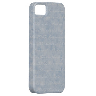 Blue/Gray Texture Case For The iPhone 5