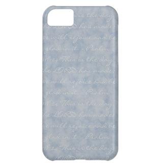 Blue/Gray Texture iPhone 5C Case