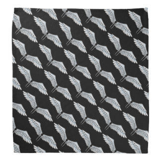 Blue-gray wings bandana