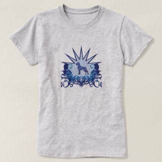 Blue Great Dane Logo T-Shirt