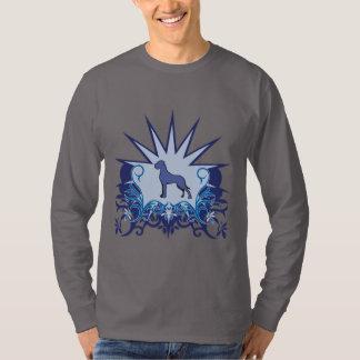 Blue Great Dane Logo Tee Shirts