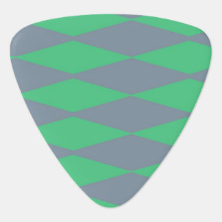 Blue green abstract pattern plectrum