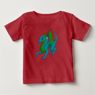 Blue/Green Baby Dragon Jersey Shirt