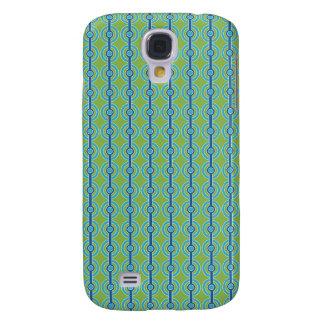 Blue / Green Circles custom HTC Vivid case