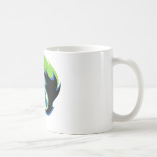 Blue Green Dragon Mug
