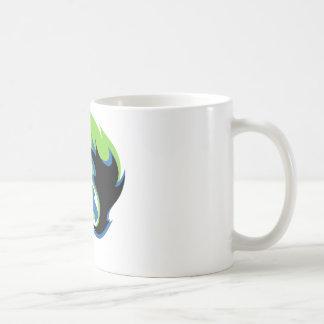 Blue Green Dragon Coffee Mug