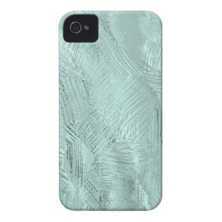 Blue Green Etched Glass Print iPhone 4 Case-Mate Case-Mate iPhone 4 Cases