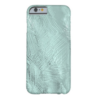 Blue Green Etched Glass Printed Barely There iPhone 6 Case