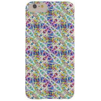 Blue Green Geometric Barely There iPhone 6 Plus Case