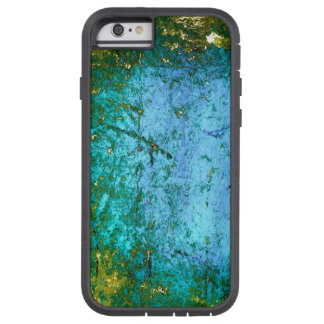 Blue Green Grunge Abstract Phone Case