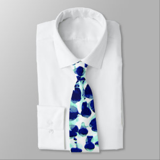 Blue Green Lupin Gents Tie