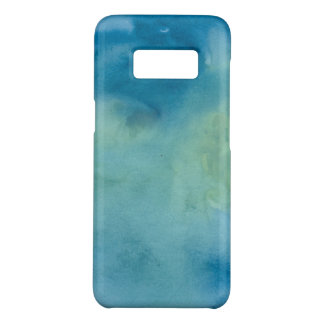 Blue & Green Marble Watercolour Case-Mate Samsung Galaxy S8 Case