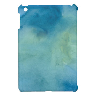 Blue & Green Marble Watercolour iPad Mini Cover