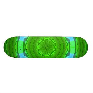 Blue Green PAttern Skateboards