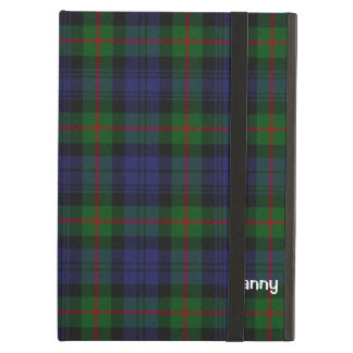 Blue, Green, & Red Murray Tartan Plaid Custom iPad Air Case