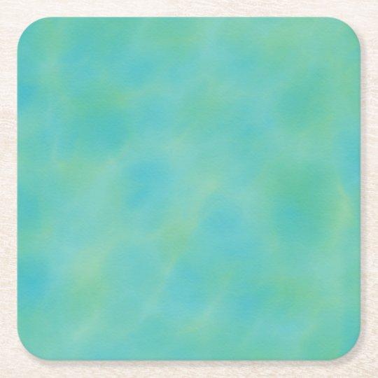 Blue Green Shades Coaster