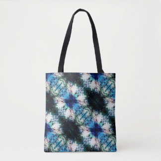 Blue, Green Shades With Lighter Texture Tote Bag