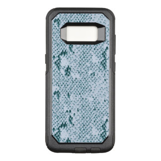 Blue Green Snake Skin Pattern OtterBox Commuter Samsung Galaxy S8 Case