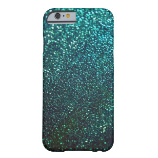 Blue/Green Sparkle Glitter iPhone 6 case Barely There iPhone 6 Case