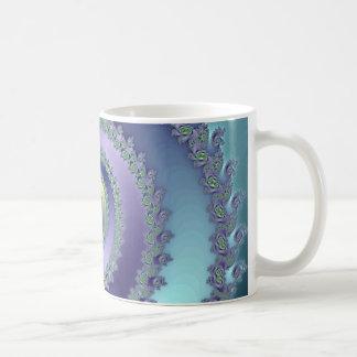 Blue/Green Spiral (Mug)