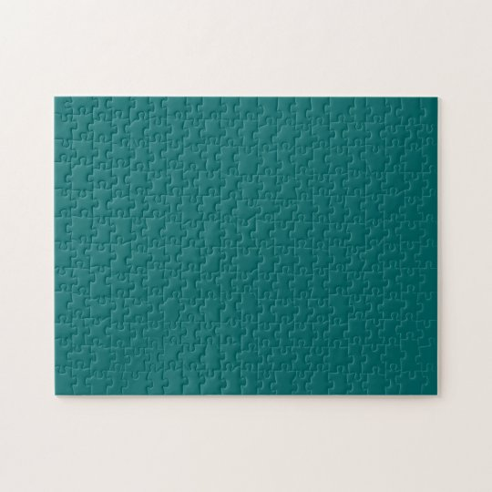 Blue Green Template Jigsaw Puzzle