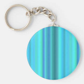 blue green touched Fantasy kind - kind Deco Basic Round Button Key Ring