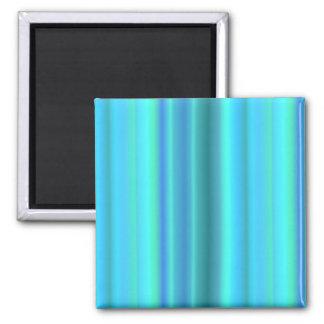 blue green touched Fantasy kind - kind Deco Square Magnet