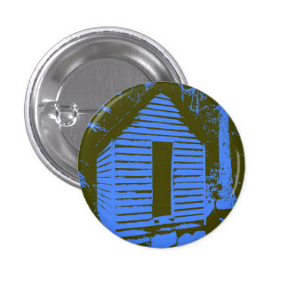 Blue/Green Water Shed Small Round Button
